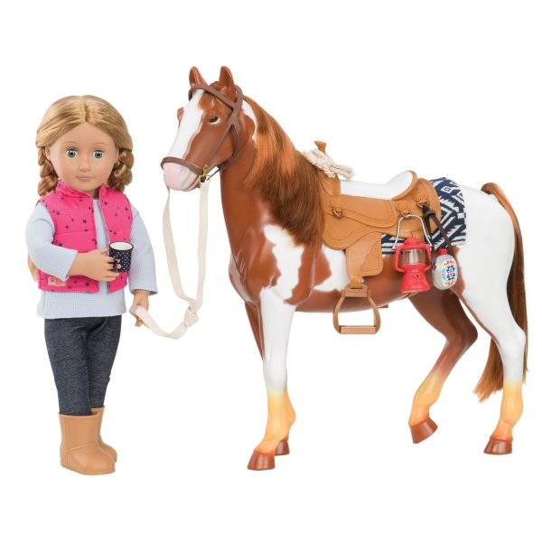 BD38017-dp-Trail Riding Horse