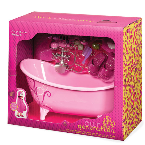 Owl Be Relaxing Bathtub Set _BD37035Z-pkg